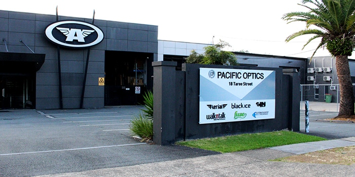 Pacific Optics Head Office In Taree Street