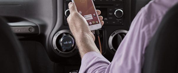 Walkntalk Car Charger Cables And Magnetic Handsfree Gadget