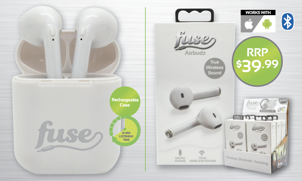 Fuse Airbudz - True Wireless Sound