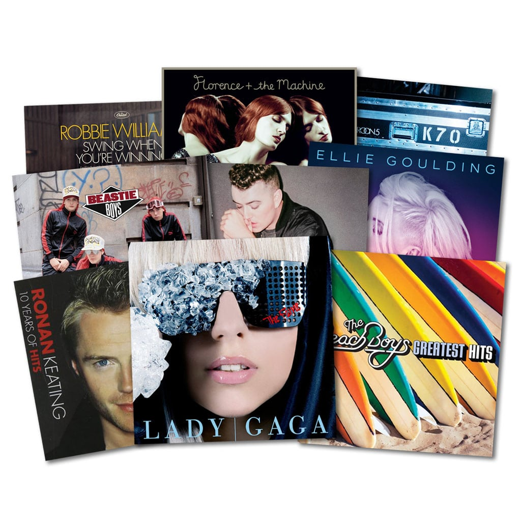 Pop Music CD's